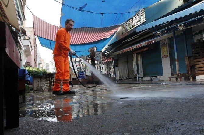 Havra Sokakta Temizlik Seferberliği