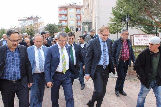 AK Partili Serdar, İlçeleri Ziyaret Etti
