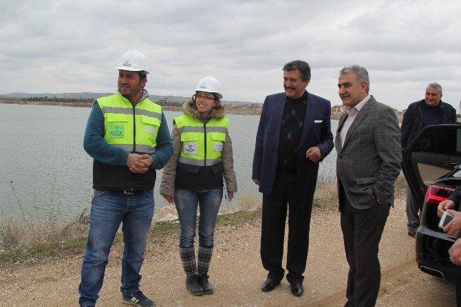 Milletvekili Ağralı Cihanbeyli'de Çalışmaları İnceledi