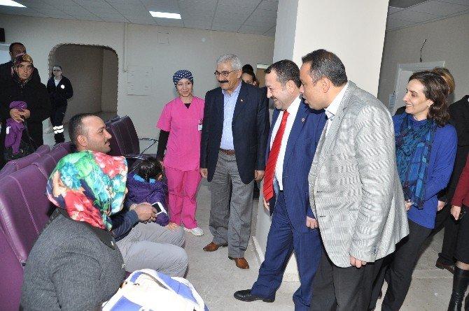 AK Parti Heyeti Sağlık Alanlarını İnceledi