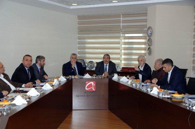 Sanko Onursal Başkanı Konukoğlu Adana'da
