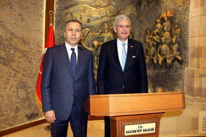 Bakan Bozkır'dan Gaziantep Valiliğine Ziyaret
