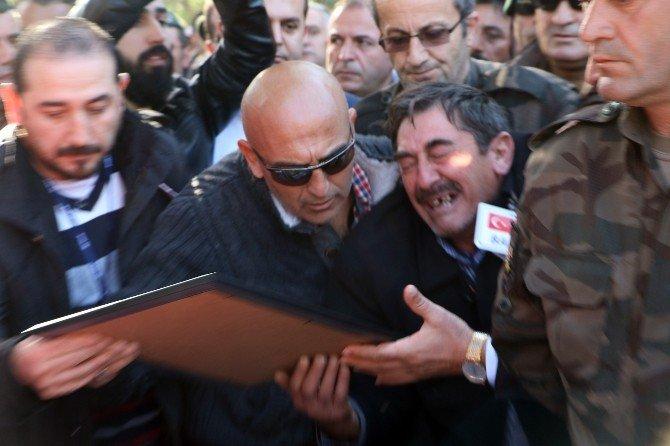Şehit Polis Antalya'da Son Yolculuğuna Uğurlandı