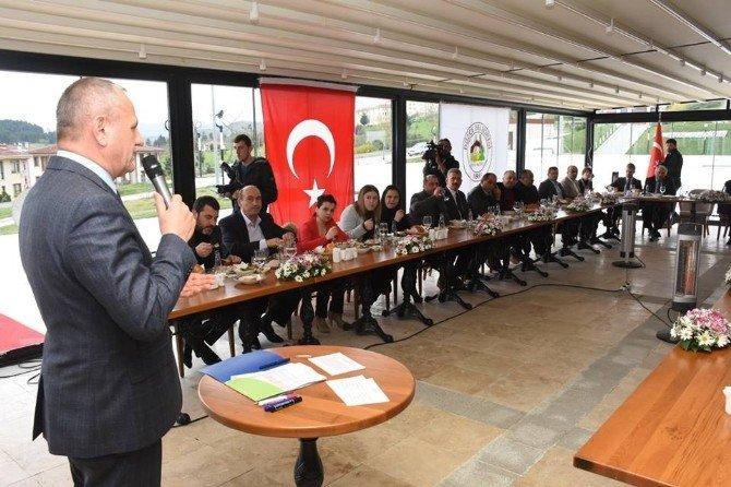 Başkan STK'lara Projelerini Anlattı