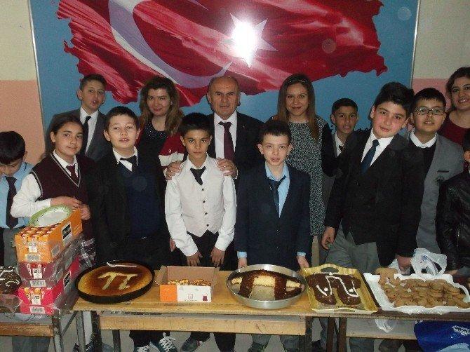 """Boğazlıyan Cumhuriyet Ortaokulu """"Pi"""" Gününü Kutladı"""