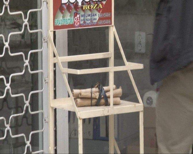 Valinin Geçiş Güzergahındaki Paket Polisi Alarma Geçirdi