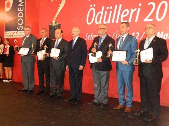SODEM'den Efeler Belediyesi'ne Ödül