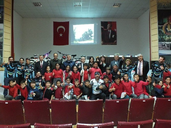Dalaman'da Sağlık İçin Pedal Çevir Projesi