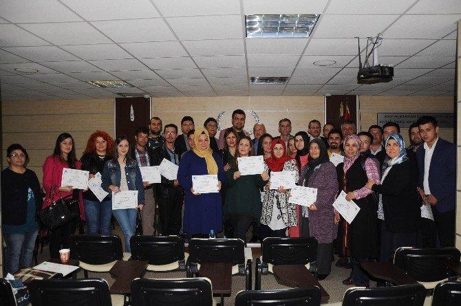 Erdemli'de Girişimciler Sertifikalarını Aldı