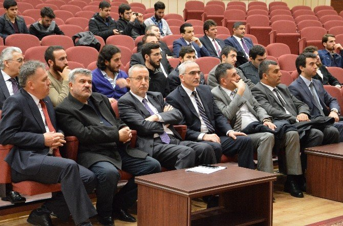 Erciyes Üniversitesi'nde 'Katılım Ekonomisi' Konferansı