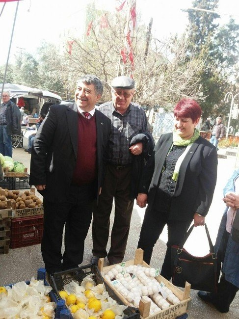 MHP Eskişehir İl Teşkilatının Mihalgazi Ziyareti
