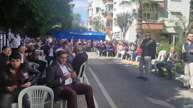 Söğüt Belediye Başkanı Halil Aydoğdu Şehidin Evine Ziyaret Etti