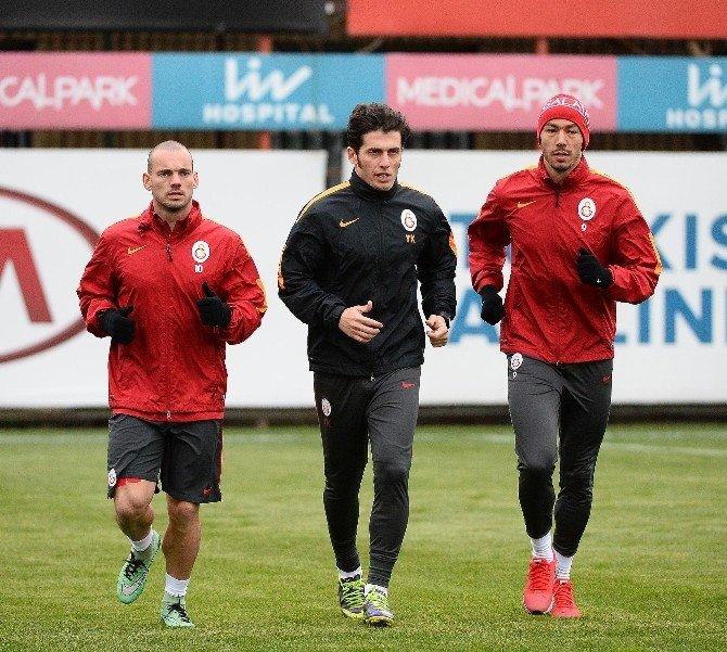 Rıekerınk, Galatasaray İle İlk Antrenmanına Çıktı