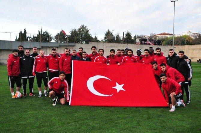 Gaziantepspor Pas Çalıştı