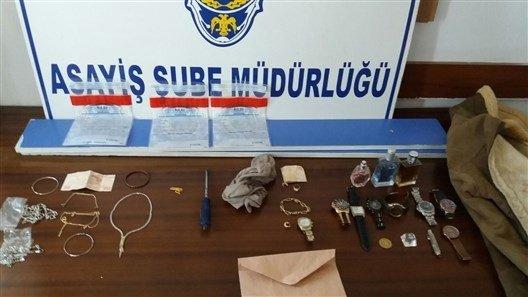 Polisin Duyarlılığı Hırsızı Yakalattı