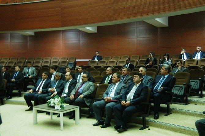 İl Su Yönetimi Koordinasyon Toplantısı Valilikte Yapıldı