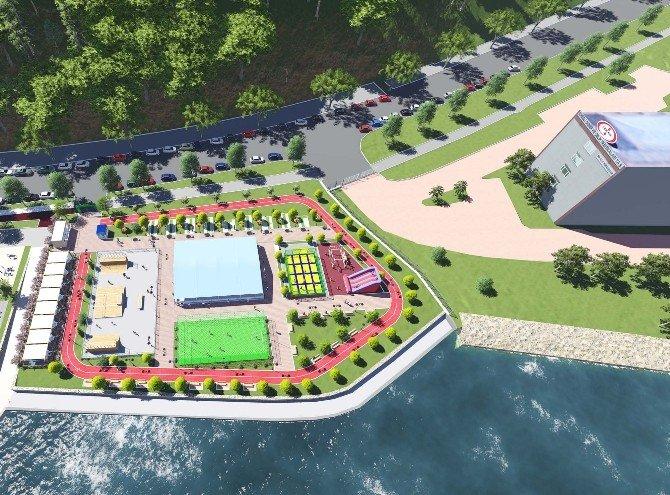 Kdz. Ereğli'de Spor Parkı Yapım Çalışmalarına Başlandı