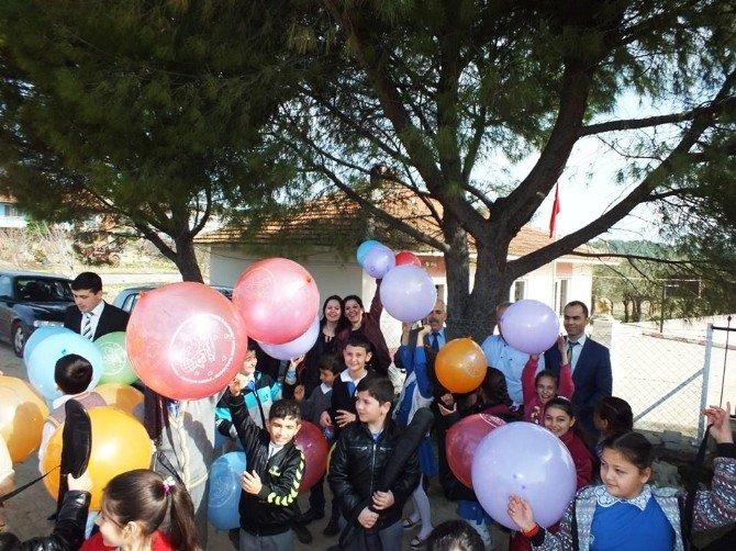 Hamitli'de Kardeş Okul Coşkusu