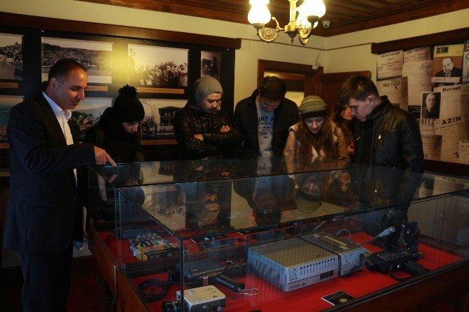 Geleceğin Gazetecileri Basın Müzesi'ni Ziyaret Etti