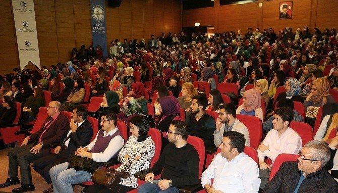 KTO Karatay Üniversitesi'den Dünya Sosyal Hizmet Günü Programı