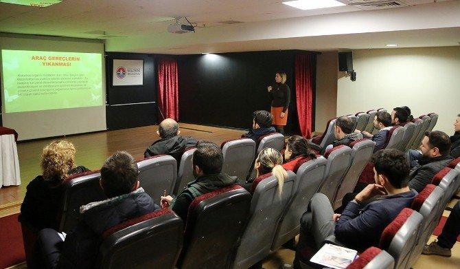 Maltepe'de Kuaförlere Hijyen Eğitimi