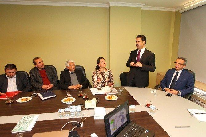 Başkan Köşker'den 2b İstişare Toplantısı
