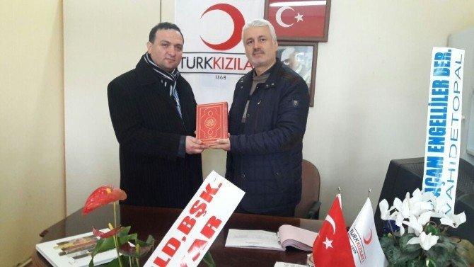 Öğrencilerinden Kızılay'a Ziyaret