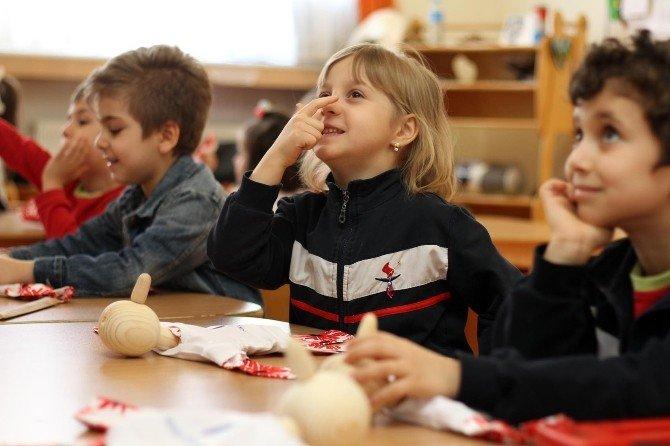 Özel Sanko Okulları Anasınıfında Eğlenceli Kukla Etkinliği