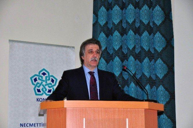 """NEÜ'de """"Bilim Zihniyeti Ve Sağlıkta Tüseb İhtiyacı"""" Konferansı"""