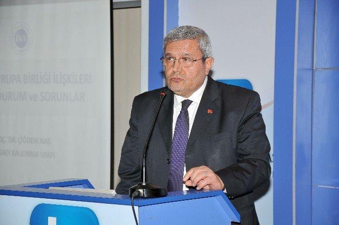 KSO'da, Türkiye-ab İlişkileri Konuşuldu