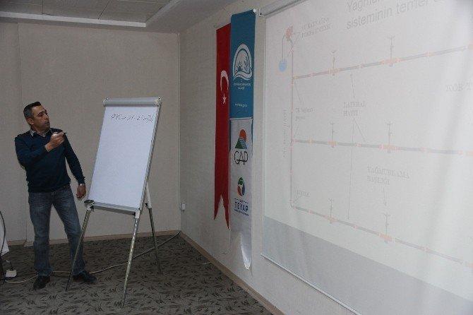 'Sulama Projelendirme Ve Sulama Zaman Planlaması' Eğitimi