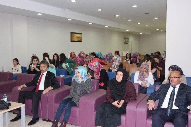 SGK İl Müdürlüğü ERÜ Öğrencileri İçin Seminer Düzenledi