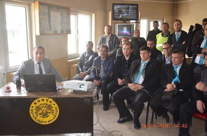 Konya'da Terör Polisinden Bilgilendirme Faaliyeti