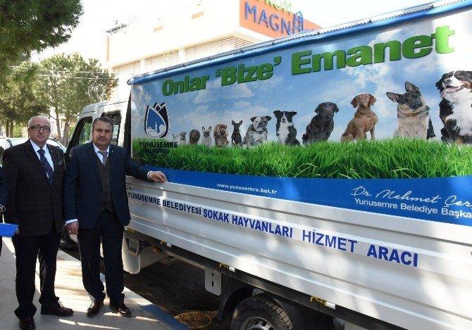 Yunusemre Sokak Hayvanlarına Sahip Çıkıyor