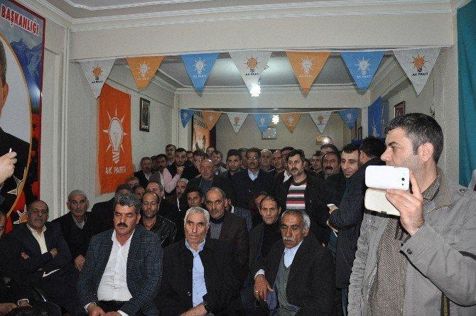 AK Partili Şimşek'in Bulanık Ziyareti