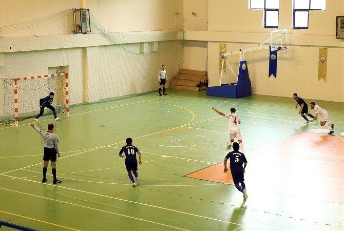 Türkiye Ünilig 2. Lig Salon Futbolu Edirne'de Başladı
