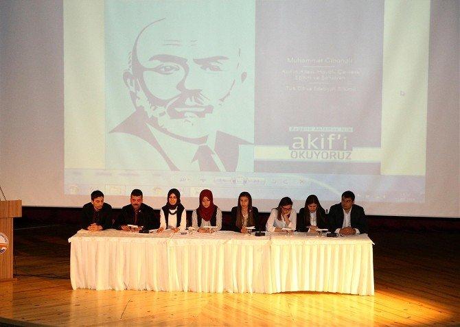 İstiklal Marşı'nın Kabulü Ve Mehmet Akif Ersoy Anlatıldı