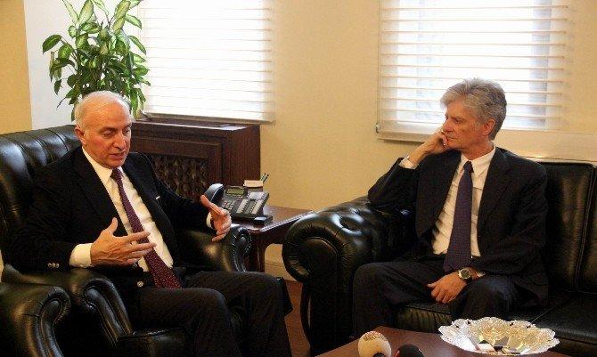 Avusturya Büyükelçisi Wölfer Samsun'da Yeni Yatırım Alanları Arıyor