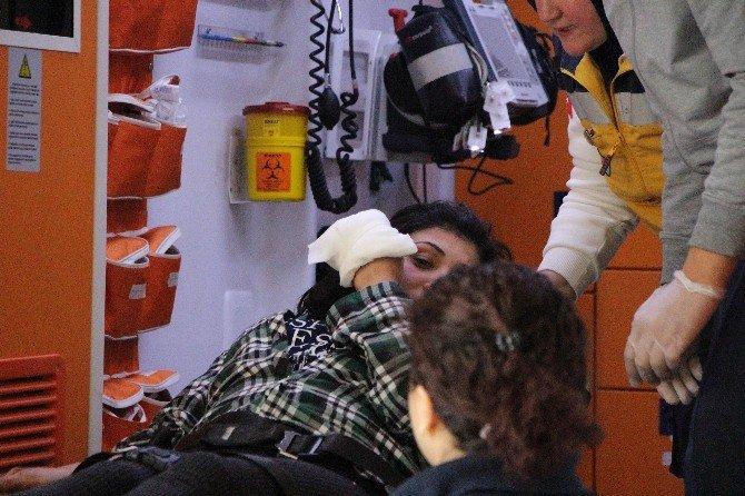 Aldatıldığını Düşünen Kadın Gürcü Kadının Evini Bastı