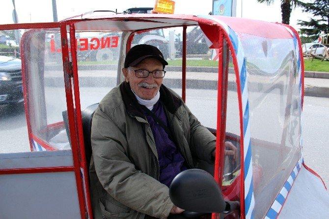 Karadenizli Vatandaşın Tasarladığı Alternatif Engelli Aracı