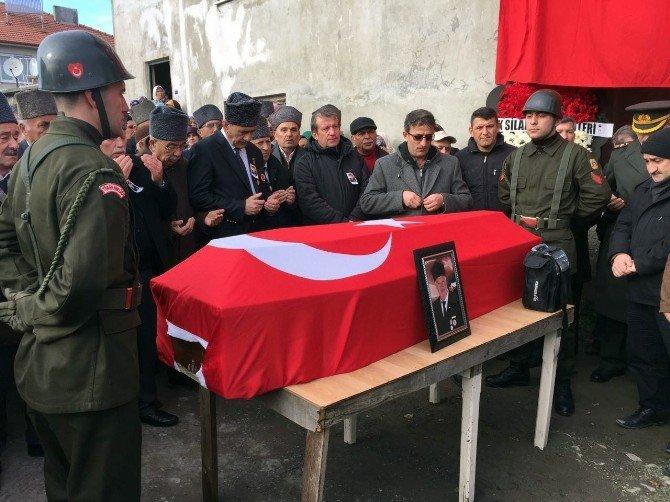 Kalp Krizi Geçiren Kıbrıs Gazisi Son Yolculuğuna Uğurlandı