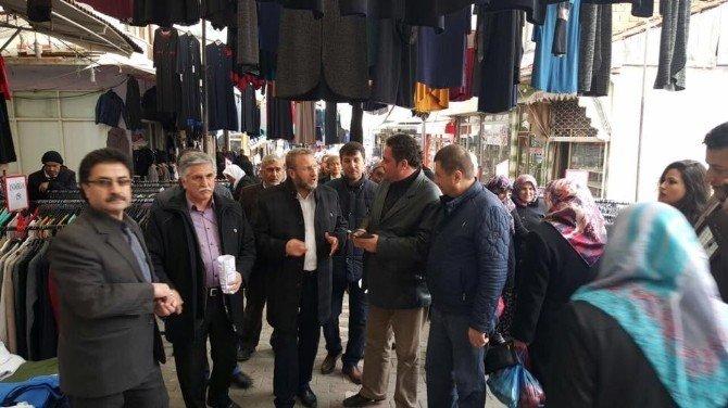 Milletvekili Ahmet Tan Simav'ı Ziyaret Etti