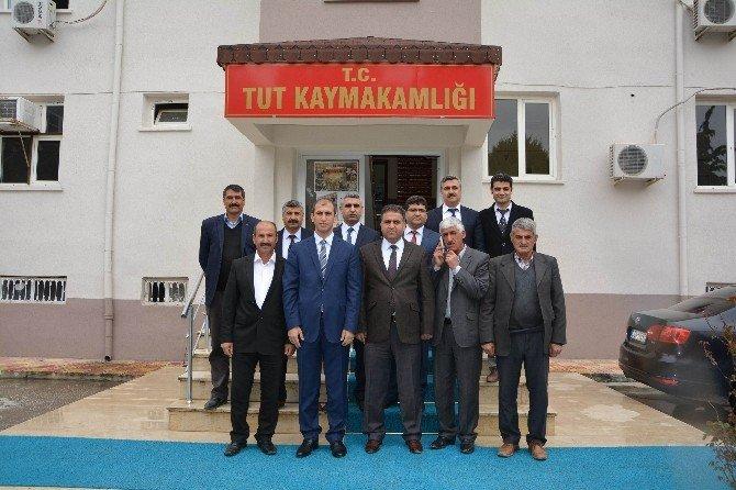 Milletvekili Fırat'tan Tut İlçesine Ziyaret