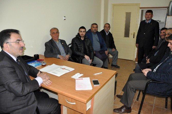 AK Parti Yozgat Milletvekili Ertuğrul Soysal, Sorgun'da Halk Günü Düzenledi