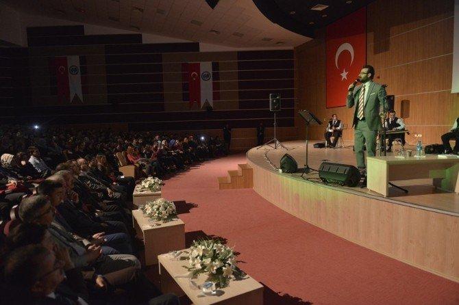 Bedirhan Gökçe KMÜ'de Öğrencilerle Buluştu