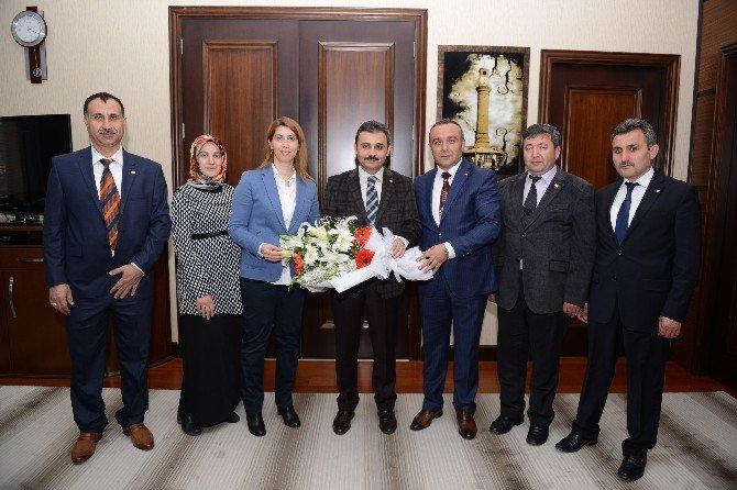 Bem-bir-sen'den Başkan Külcü'ye Ziyaret