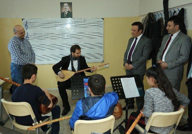 Başbakan Başdanışmanı Şen'den Başkan Genç'e Ziyaret