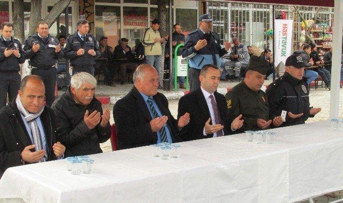 Han Belediyesi Şehitler İçin Mevlid-i Şerif Okuttu