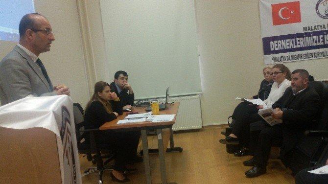 Derneklerle İstişare Toplantısı Düzenlendi
