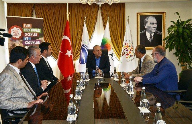 """Bakan Çavuşoğlu: """"EXPO 2016 Turizme Ömür Boyu Hizmet Edecek"""""""